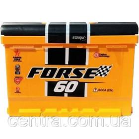 Автомобильный аккумулятор Forse (Westa) 6СТ-60 R+ 600A