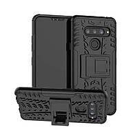 Чехол Armor Case для LG V40 ThinQ Black