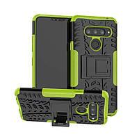 Чехол Armor Case для LG V40 ThinQ Lime