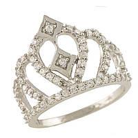 Серебряное кольцо Kolibri с фианитами (1237601) 15.5 размер