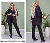 Пиджак стильный креп костюмка 58-60, фото 3