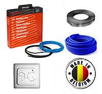 Электрический теплый пол Греющий Нагревательный кабель Rayсhem Бельгия