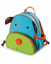 Детский рюкзак Skip Hop Zoo Pack (Zoo Little Kid Backpack) - Dog (Собачка), 3+
