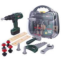 Набор детских инструментов в коробке. Отличное качество
