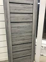 Дверь межкомнатная ECO Doors Smart  Дуб дымчатый C026