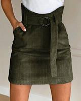 Вельветовая юбка мини Fancy