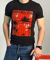 Мужская футболка Bikkembergs P0342 черная