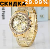 Модные женские часы Huans Золото