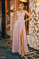 Вечернее платье пудрового цвета S,M