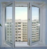 Окно WDS Ultra 7 штульповое открывание 1300х1400 мм