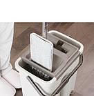 [ОПТ] Плоская швабра с полосканием и отжимом cleaning mop, фото 2