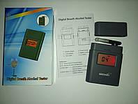 Алкотестер карманный профессиональный цифровой с экраном Greenwon AT838