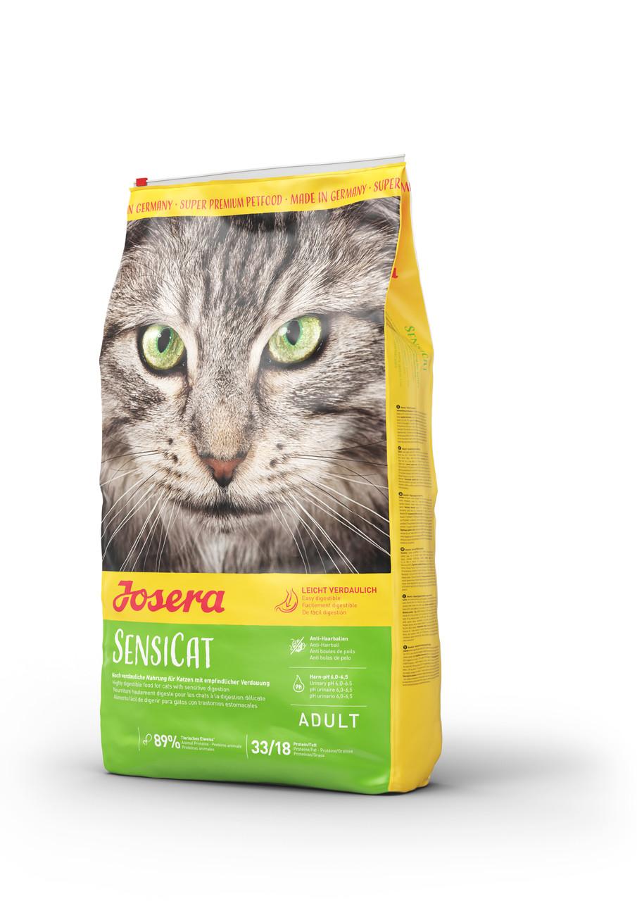 Корм Josera SensiCat Йозера СенсіКет для кішок з чутливим травленням 0,400 гр