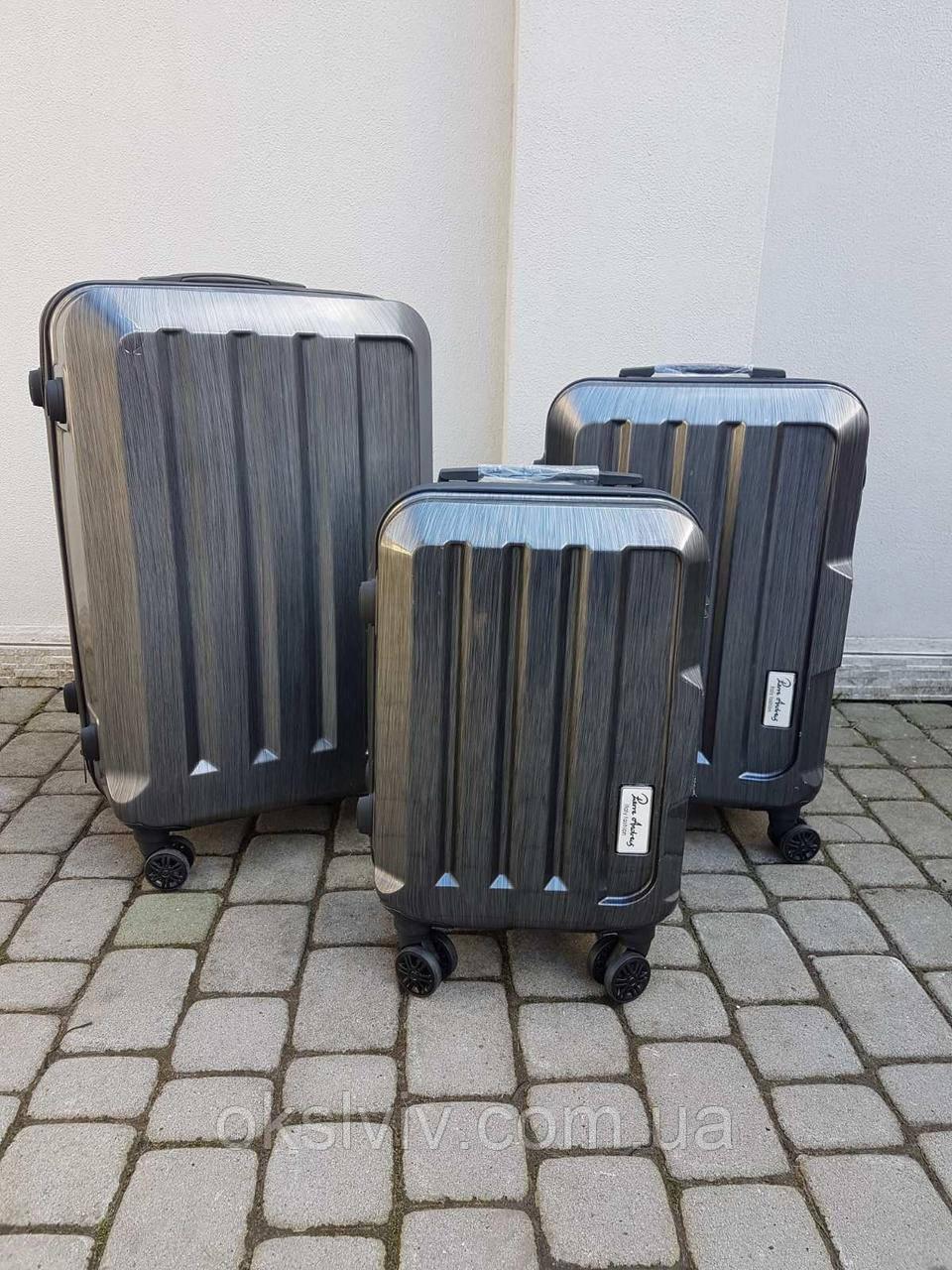 PERRE ANDRES Італія 100% полікарбонат валізи чемоданы сумки на колесах