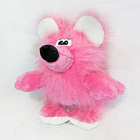 Мягкая игрушка Zolushka Крыска Зюзюка 60см розовая (043-1)