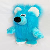Мягкая игрушка Zolushka Крыска Зюзюка 60см голубая (043-2)