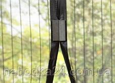 Москитная сетка штора на магнитах на двери, фото 2