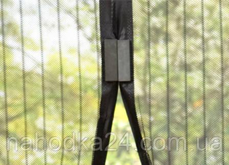 Сетка москитная на магнитах на двери Magic Mesh (антимоскитная), фото 2