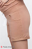 Шорты для беременных MAJORKA SH-20.033 бежевые, фото 3