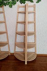 """Напольная подставка для цветов из массива натурального дерева ольха """"Робин Люкс"""", фото 2"""