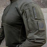 Рубашка UBACS тактическая S.W.A.T. ARMY OLIVE, фото 7