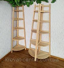"""Этажерка из массива натурального дерева от производителя """"Робин Люкс"""", фото 3"""