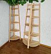 """Белая угловая этажерка из массива дерева от производителя """"Робин - 2"""", фото 4"""