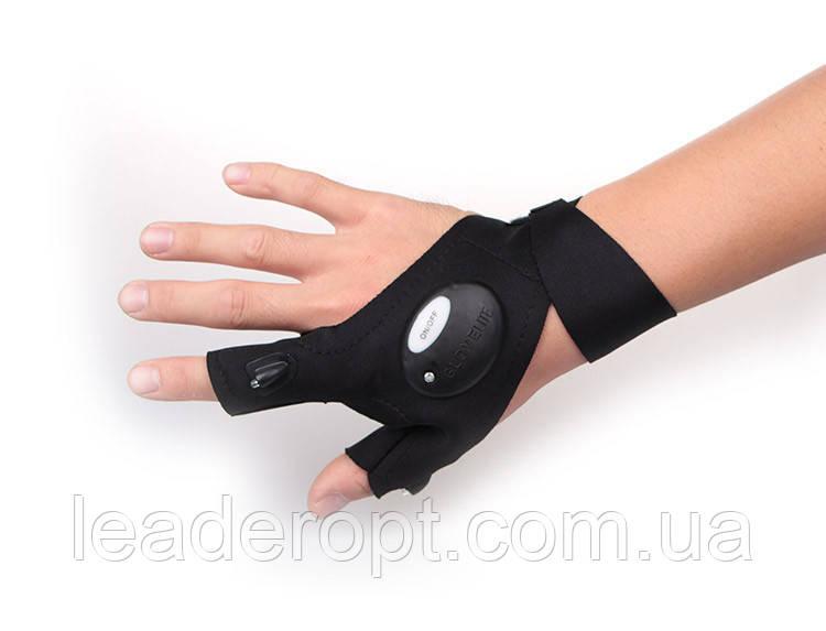 [ОПТ] Перчатка с фонариком Glovelite