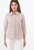 Коттоновая женская блузка, размер от 42 до 48, фото 2