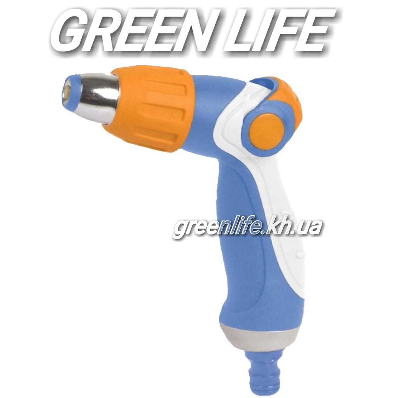 Пистолет регулируемый с контролирующим бегунком LUX  металлический Aquapulse