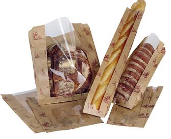 Бумажные пакеты саше с прозрачной вставкой