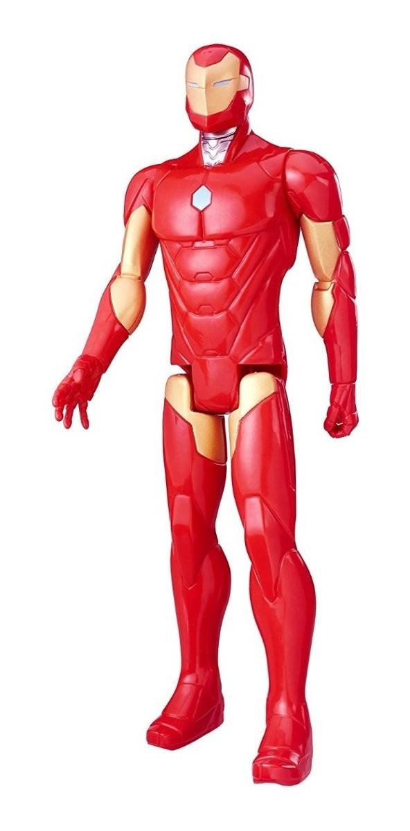 Игрушка-фигурка Hasbro Железный Человек, Марвел, 30 см -Iron Man, Marvel, Titan Hero Series