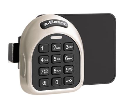 Мебельный замок по коду, карте и телефону Passtech PT400BR