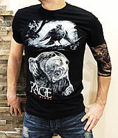 Футболка Rage Animal light black