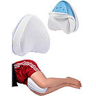 ОПТ Подушка ортопедична для ніг і колін Contour Legacy Leg Pillow анатомічна з ефектом пам'яті, фото 2