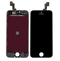 Дисплей для iPhone 5S, iPhone SE, модуль в сборе (экран и сенсор), с рамкой, черный, оригинал 100%