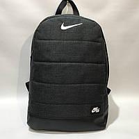 Рюкзак  Найк, Nike, AIR серый