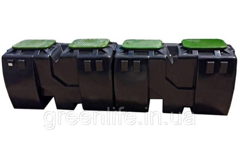 Сепаратор нефтепродуктов OIL 25,  сепаратор нефти, ( производительность 25 л/с)