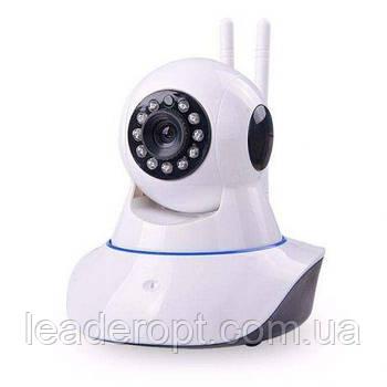 Камера відеоспостереження Wi-fi ip поворотна з мікрофоном і динаміком з інфрачервоною підсвіткою ОПТ