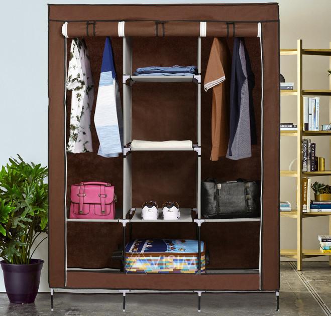Складной тканевый шкаф Storage Wardrobe 88130