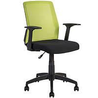 Кресло офисное Alpha black-green, 21142 (бесплатная доставка АвтоЛюксом при заказе по телефону)