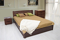 Кровать София 180 х 200 см (орех темный)