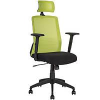 Кресло офисное Bravo black-green, 21144 (бесплатная доставка АвтоЛюксом при заказе по телефону)