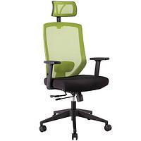 Кресло офисное JOY black-green, 14502 (бесплатная доставка АвтоЛюксом при заказе по телефону)