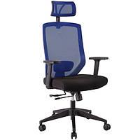 Кресло офисное JOY black-blue, 14504 (бесплатная доставка АвтоЛюксом при заказе по телефону)