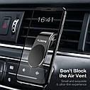 Универсальный автомобильный держатель для телефона на вентиляционное отверстие, магнитный держатель, фото 6