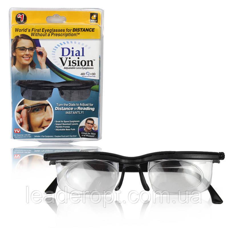 [ОПТ] Очки для зрения универсальные Dial Vision
