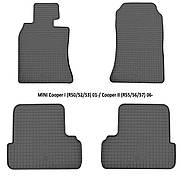 Коврики в салон резиновые Stingray MINI Cooper II (R55/56/57) 2006