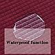 Чехол на диван эластичный защитный Трикотаж-жатка 2-х местный, HomyTex Бордовый, фото 9