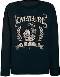 Женский свитшот Emmure - GTFO (чёрный)